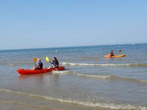 colonie de vacances surf et kayak