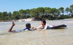 colonies de vacances à la mer